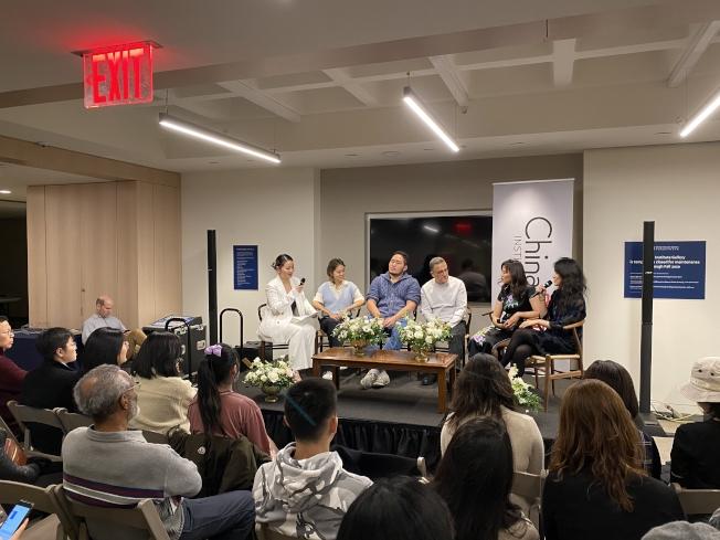 紐約珠寶周「木蘭」集結華裔設計師,力求打破刻板印象。(記者張晨/攝影)