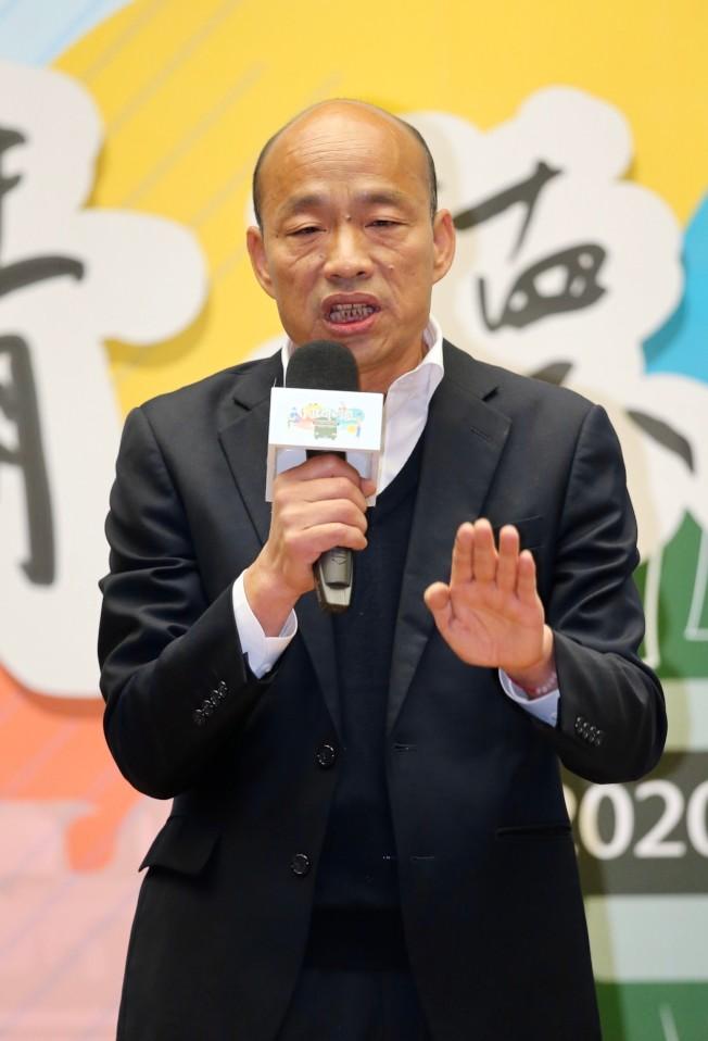 青年論壇尖銳 韓國瑜坦率以對