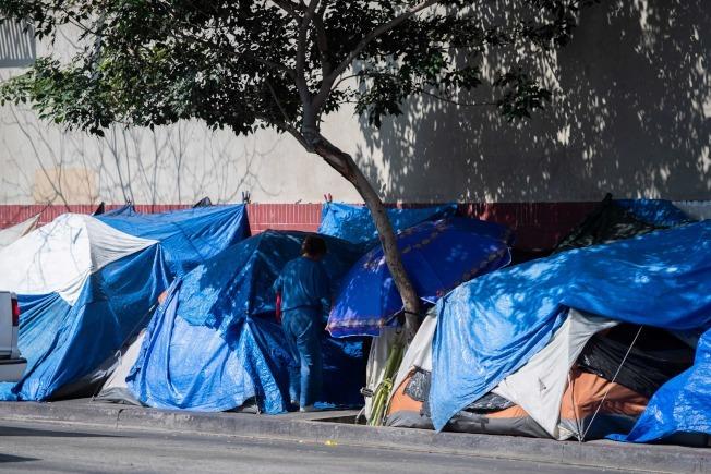遊民問題越來越讓奧斯汀市民憂心。(Getty/世界新聞網)