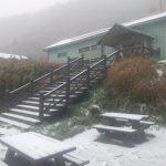 「下雪了!」寒流夾帶水氣 雪山飄瑞雪