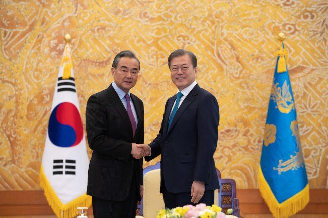 「強權政治威脅地區和平穩定」 王毅訪韓批美部署薩德