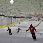 美國夢商場節日季 室內滑雪場開放