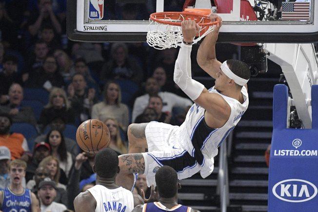 NBA/葛登致勝灌籃 魔術4連勝、騎士近12戰吞11敗
