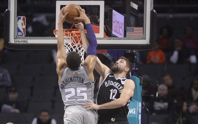 NBA/哈里斯領軍團體戰 籃網捕蜂收二連勝