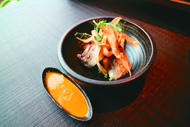 烤午仔魚。(記者吳姿賢/攝影)