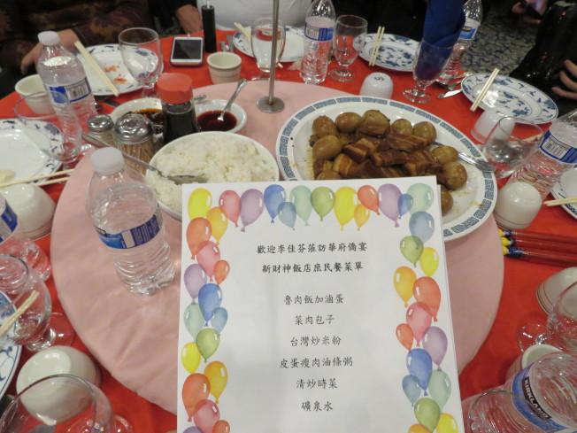 國民黨總統候選人韓國瑜妻子李佳芬訪美國華府,僑宴吃「庶民餐」。華盛頓記者張加/攝影