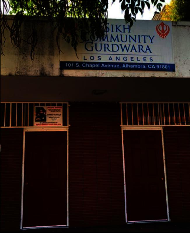 新建案如果開建,阿市Sikh教堂勢必要移除。圖為阿市Sikh教堂。(本報資料照片)