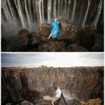 非洲南部大旱 世界最大瀑布恐斷流