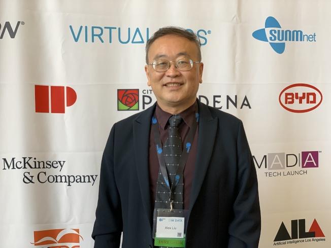 科研方法與數據科學組織創始人劉永川。(記者王子銘/攝影)