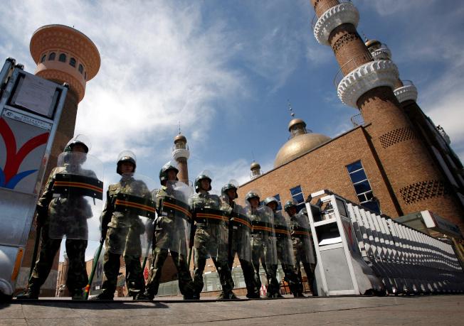 新疆情勢極為敏感,也成為近期中美較勁的焦點。(路透)