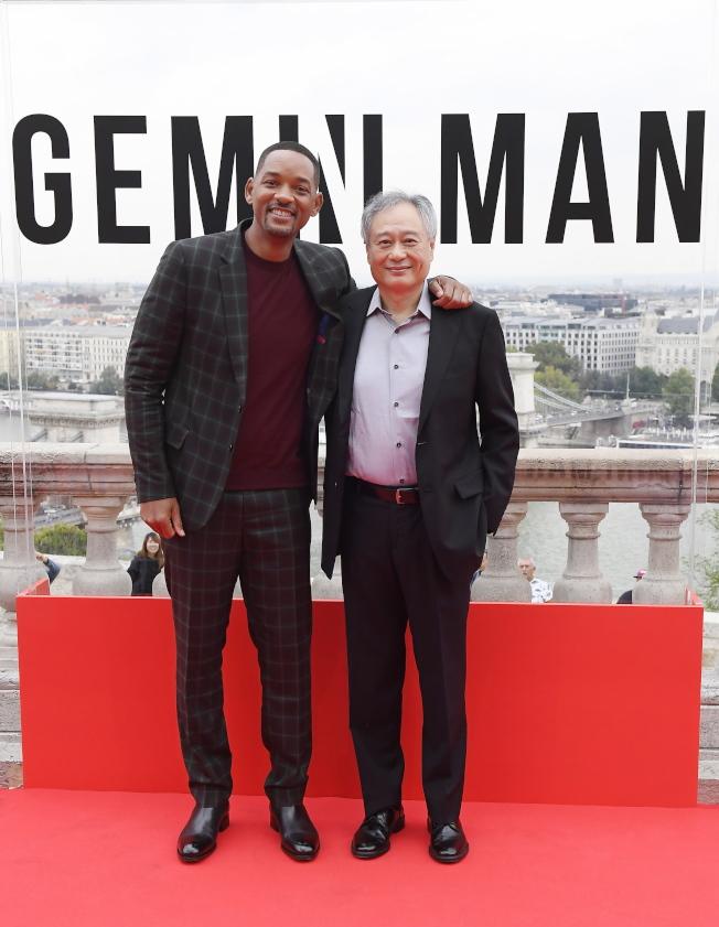 李安與威爾史密斯合作「雙子殺手」雖有話題,結果卻很不理想。(歐新社資料照片)