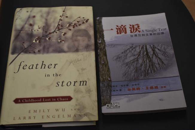 有評論形容,巫氏父女的兩本書是「兩代人搶救歷史,大巫小巫落玉盤」。(記者黃少華/攝影)