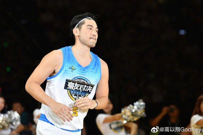 高以翔生前很喜歡打籃球。(取材自微博)