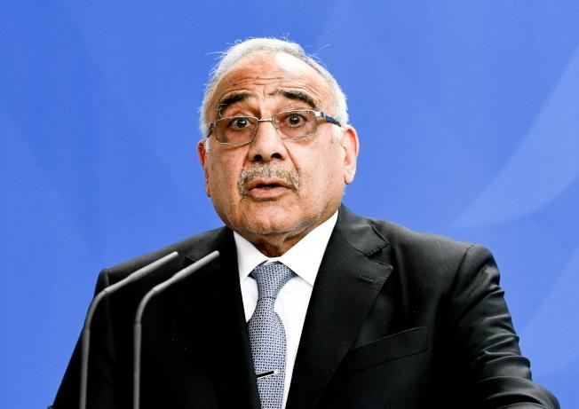 伊拉克總理馬蒂只做了13個月就黯然下台。(歐新社)
