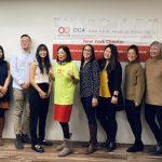 美華協會紐約分會 8新董事會成員就職
