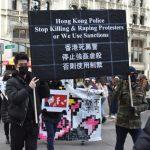 國際人權日數百人遊行 捍衛聯合國人權宣言