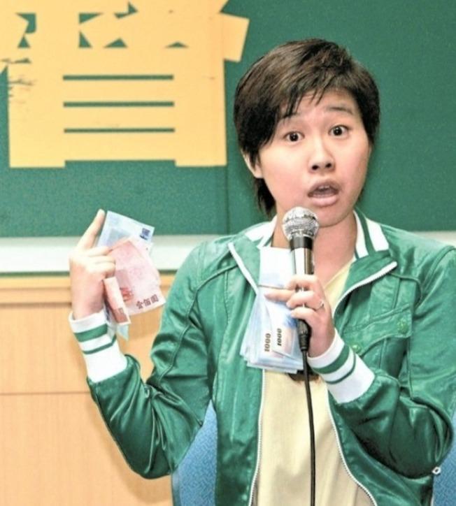 「卡神」楊蕙如的網軍案延燒,國民黨總統參選人韓國瑜呼籲她勇敢出來當汙點證人。(本報資料照片)