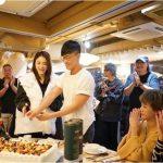 林峯40歲生日 摟張馨月同切蛋糕