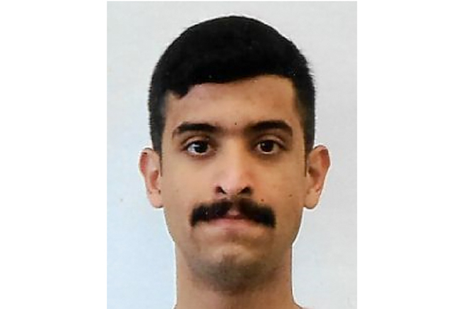 疑為恐襲的沙國學員兵奧仙拉尼。(Getty Images)