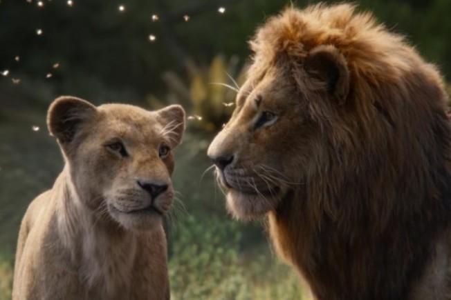 「獅子王」中的獅子看起來栩栩如生但依然是特效製作,在金球獎上依然入圍的是最佳動畫片,迪士尼的「冰雪奇緣2」、「玩具總動員4」也入圍。(迪士尼圖片)