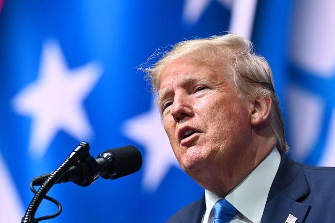 美國總統川普。Getty Images