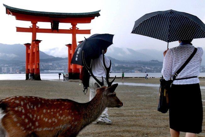 有日本三大美景之一之稱的宮島,考慮從2021年春季起徵收「入島稅」,以保護環境受到過度觀光的破壞。  歐新社