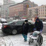 紐約市周三凌晨起氣溫驟降 恐再度降雪