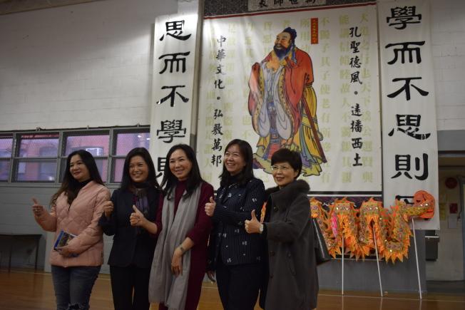 李佳芬對僑校仍每年保持祭孔傳統相當感動。(記者顏嘉瑩/攝影)