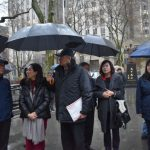 〈圖輯〉李佳芬拜會紐約僑社 讚華僑遵循傳統