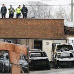 芝加哥2地遭縱火 毀30車