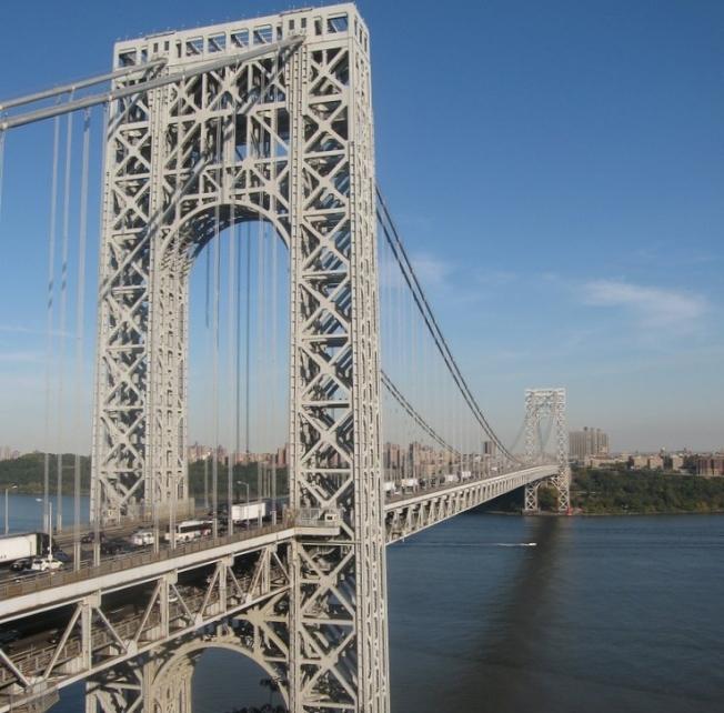 紐新航港局將取消華盛頓橋拼車計畫折扣。(美聯社)