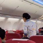 乘客收噩耗飛機緊急滑回 海航:情緒失控不宜繼續運輸