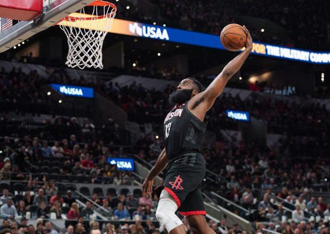 NBA/哈登灌籃遭誤判 火箭要求重賽…聯盟否決