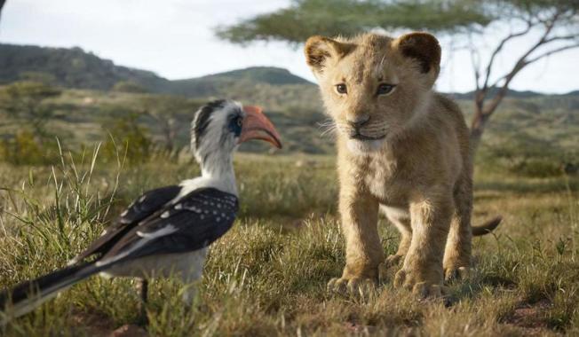 「獅子王」雖是重拍,仍以栩栩如生的驚人特效締造今年票房新紀錄。(圖:迪士尼提供)