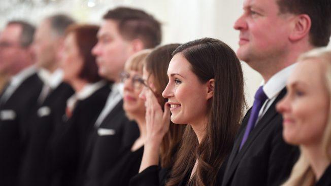 34歲馬林(Sanna Marin)擔任總理,她成目前全球最年輕總理。美聯社