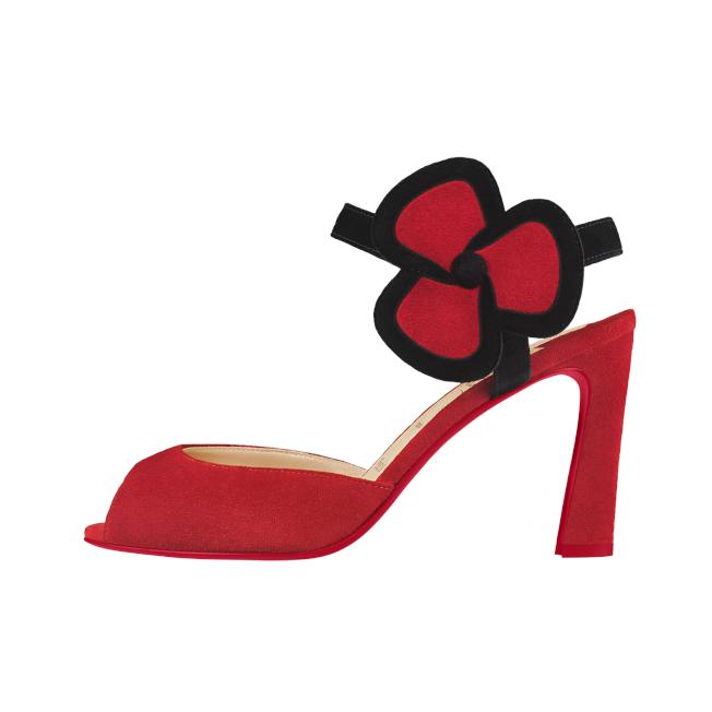 復刻Pensée小花跟鞋。圖/Christian Louboutin提供