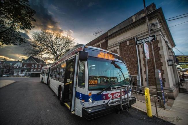 SEPTA新巴士均提供免費Wifi。(SEPTA)
