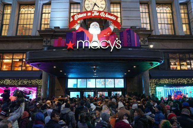 梅西百貨的銷售和營業獲利率近年來承壓。(Getty Images)