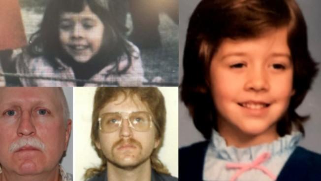 費郡五歲女童布蘭妮在30年前的耶誕節日季失蹤,綁架布蘭妮的休斯(左下)已服刑29年出獄,警方仍在尋求線索,力求還原真相。(費郡警方)