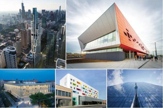 2019年為芝加哥增添特色與藝術感最傑出的五棟建築物。 (Esperanza健康中心臉書截圖)