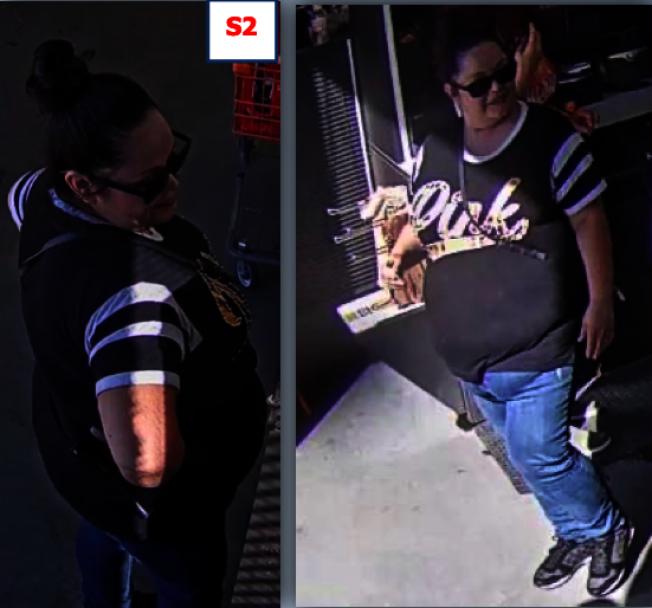 盜刷卡女性嫌犯。(蒙市警局提供)