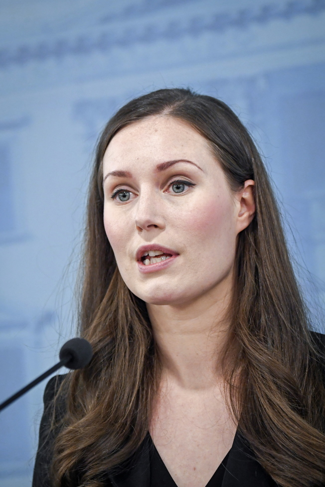 34歲人選馬林擔任芬蘭總理。(歐新社)