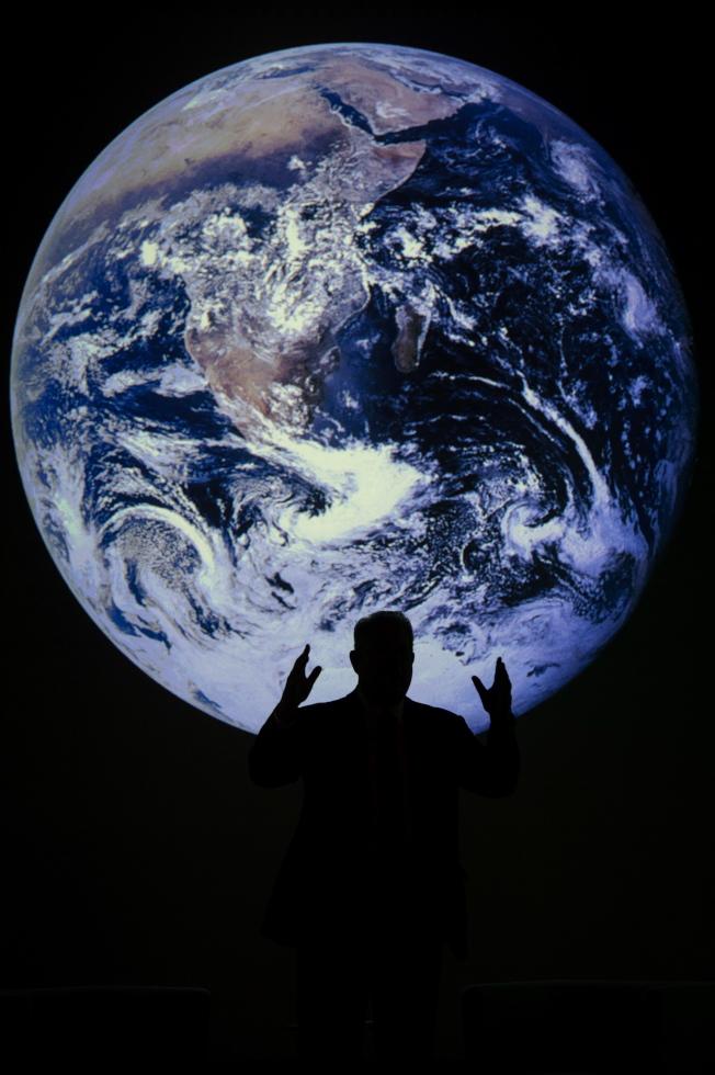 聯合國氣候會議公布2020年氣候變遷績效指標,台灣整體排名倒數第三名。(歐新社)