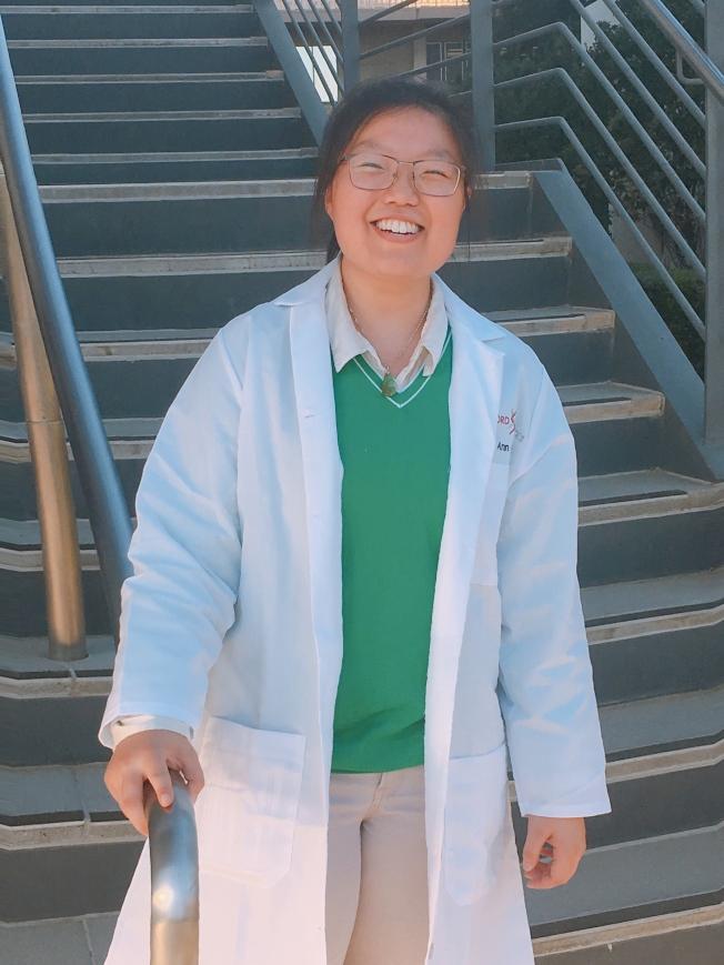 23歲博士生林鶯致力研究癌症治療。(林鶯提供)