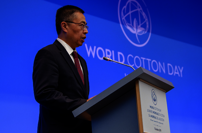 中國常駐WTO代表張向晨。(取材自中國常駐WTO代表團官網)