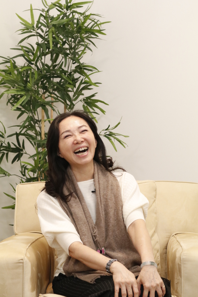 李佳芬認為人生不能後悔。記者呂賢修/攝影