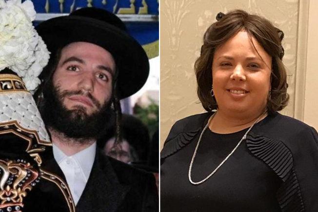 在槍擊中喪生的Leah Mindel Ferencz(右)、Moshe Deutsch(左),震驚紐新猶太社區。(取自社交網站)