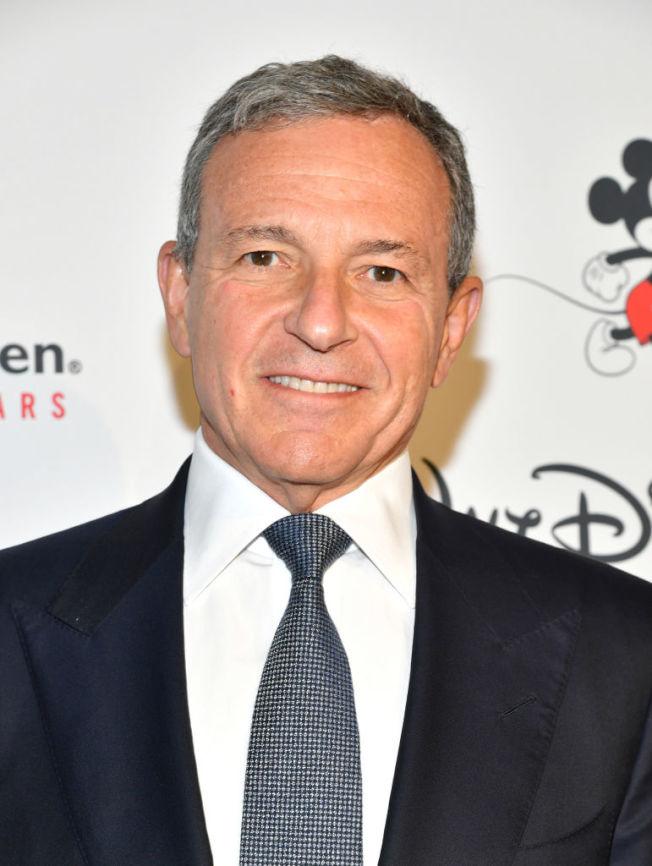 迪士尼執行長艾格獲選時代雜誌「年度企業家」。(Getty Images)