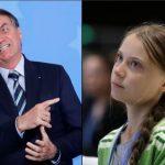 瑞典環保少女譴責雨林盜伐 巴西總統:她是屁孩