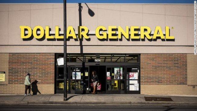 連鎖一元店Dollar General逆勢成長,今年開了975家新分店,幾乎等於每星期開20家新店。(取自推特)